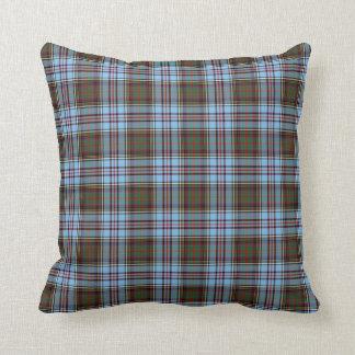 Light Blue Anderson Clan Scottish Plaid Cushions
