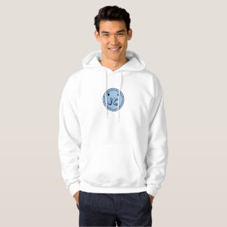 Light Blue Button Bash Hoodie