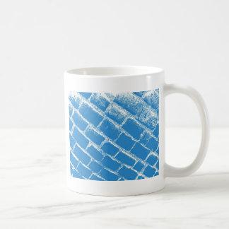 Light blue cobbles coffee mug
