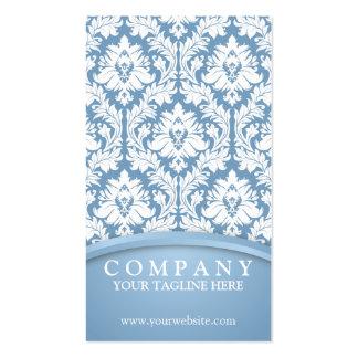 Light Blue Damask Pack Of Standard Business Cards