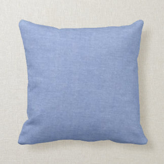 Light Blue Denim Style Cushion