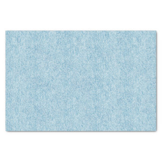 Light Blue Denim Texture Tissue Paper