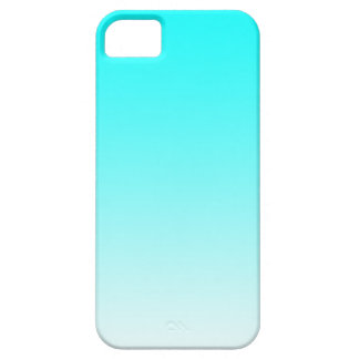 Light Blue Fade Case For The iPhone 5