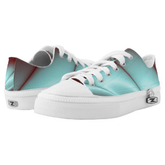 Light Blue Flash Printed Shoes