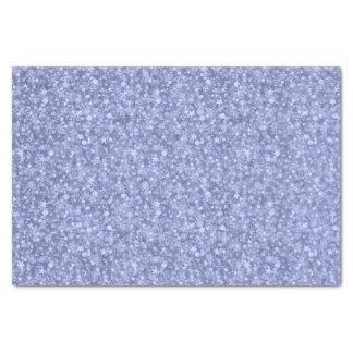 Light Blue Glitter And Sparkles Tissue Paper