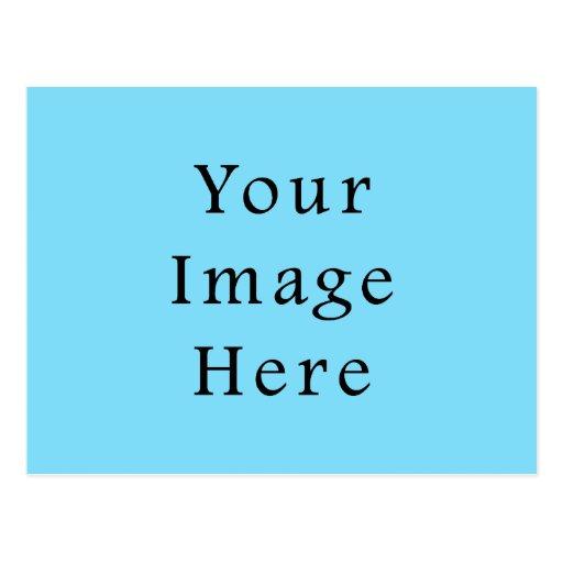 Light Blue Hanukkah Chanukah Hanukah Template Post Cards