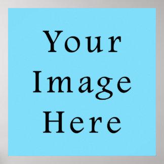 Light Blue Hanukkah Chanukah Hanukah Template Poster