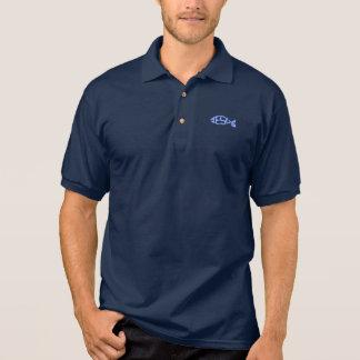 Light Blue JESUS Fish Icon Christian Shirt