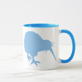 Light Blue Kiwi Mug