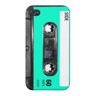 Light Blue Label Cassette iPhone 4 Cover