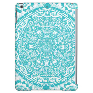 Light Blue Mandala Pattern