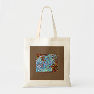 Light Blue Monarch Tote Bag