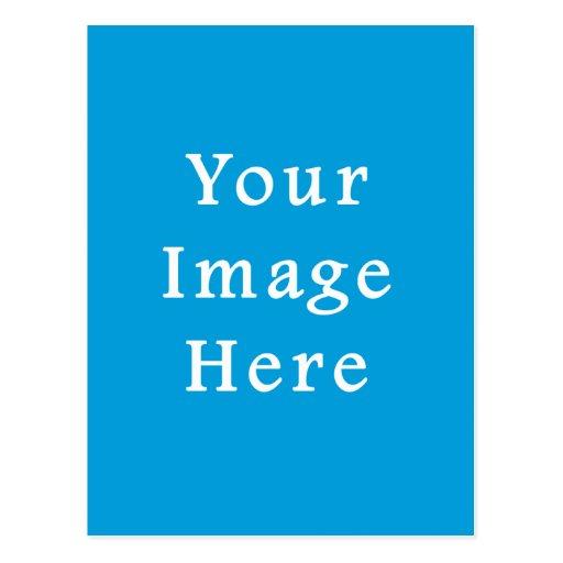 Light Blue Muted Hanukkah Chanukah Hanukah Color Post Card