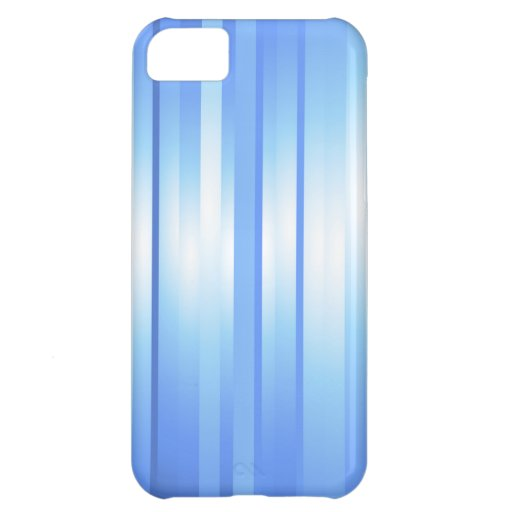 Light Blue Plaid Cover For iPhone 5C