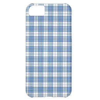 Light Blue Plaid iPhone 5C Case