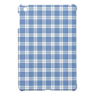 Light Blue Plaid iPad Mini Case