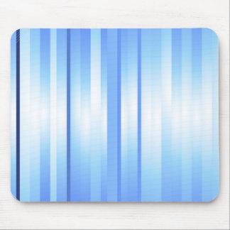 Light Blue Plaid Mouse Pad