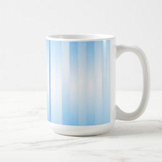 Light Blue Plaid Coffee Mugs