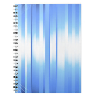 Light Blue Plaid Note Book