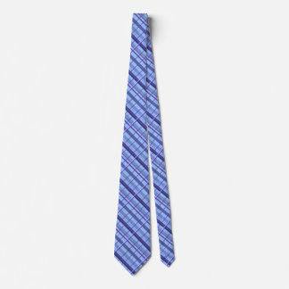Light Blue Plaid Tie