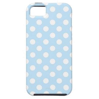 Light Blue Polka Dot iPhone 5 Case