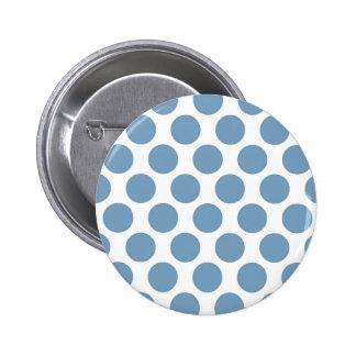 Light Blue Polkadot Pins