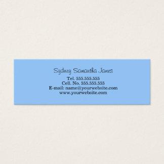 Light Blue Profile Card