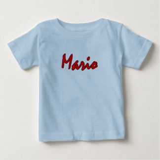 Light blue short sleeve t-shirt for Mario