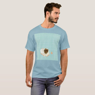 Light Blue Sinking Gato Watercolor Rare T-Shirt