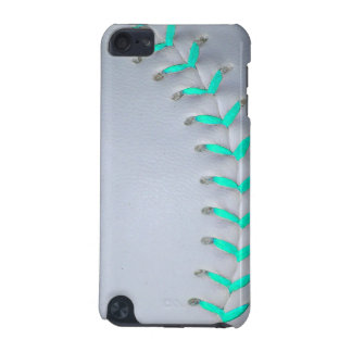Light Blue Softball / Baseball iPod Touch 5G Covers