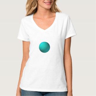 Light Blue Sphere Fractal Tshirt