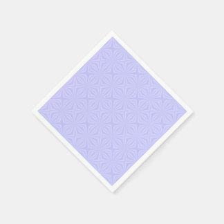 Light Blue Squiggly Squares Disposable Napkins