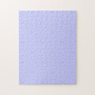 Light Blue Squiggly Squares Jigsaw Puzzle