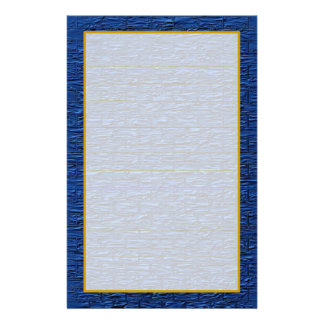 Light Blue Steel Brick Fine Lined Stationery Stationery Paper