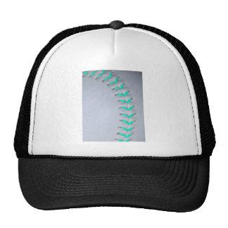 Light Blue Stitches Baseball / Softball Cap