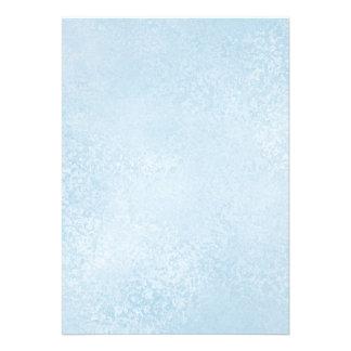 Light Blue Swirls Blank Printable Paper Invites