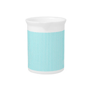 Light blue texture pitcher