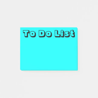 Light Blue | To Do List Post-it Notes