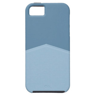 Light blue two toned point case for the iPhone 5