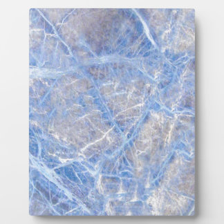 Light Blue Veined Grey Marble Plaque