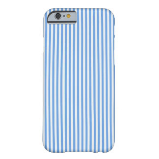 Light Blue & White Sailor Stripes iPhone Case