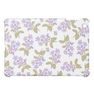 Light Blue Wildflowers Speck Case iPad Mini Covers