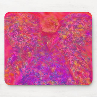 Light Body Angel Mouse Pad