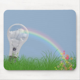 Light Bow Mouse Pad