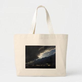Light Breaks Through Large Tote Bag