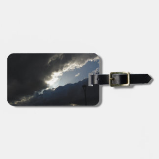 Light Breaks Through Luggage Tag