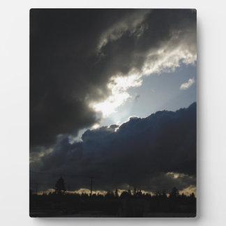 Light Breaks Through Plaque