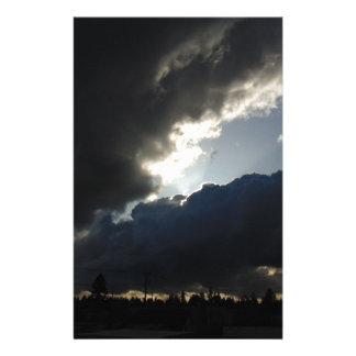 Light Breaks Through Stationery