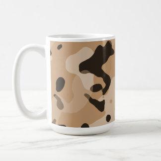 Light Brown Camo; Camouflage Mug