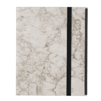 Light Brown Marble Look iPad Cover